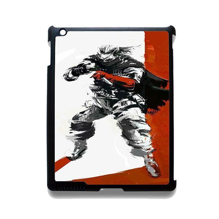 Metal Gear Solid Big Boss TATUM-7076 Apple Phonecase Cover For Ipad 2/3/4, Ipad Mini 2/3/4, Ipad Air, Ipad Air 2