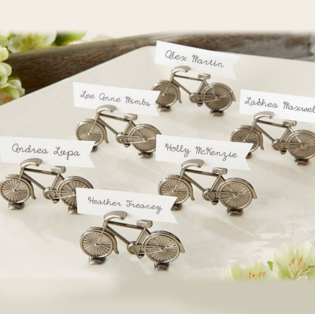 20 pcs Bicycle Place Card Holders -Bicycle themed - Wedding, Party ...