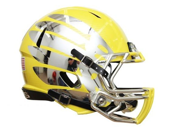Oregon Ducks' Rose Bowl helmets: First look at the Nike gear on ...