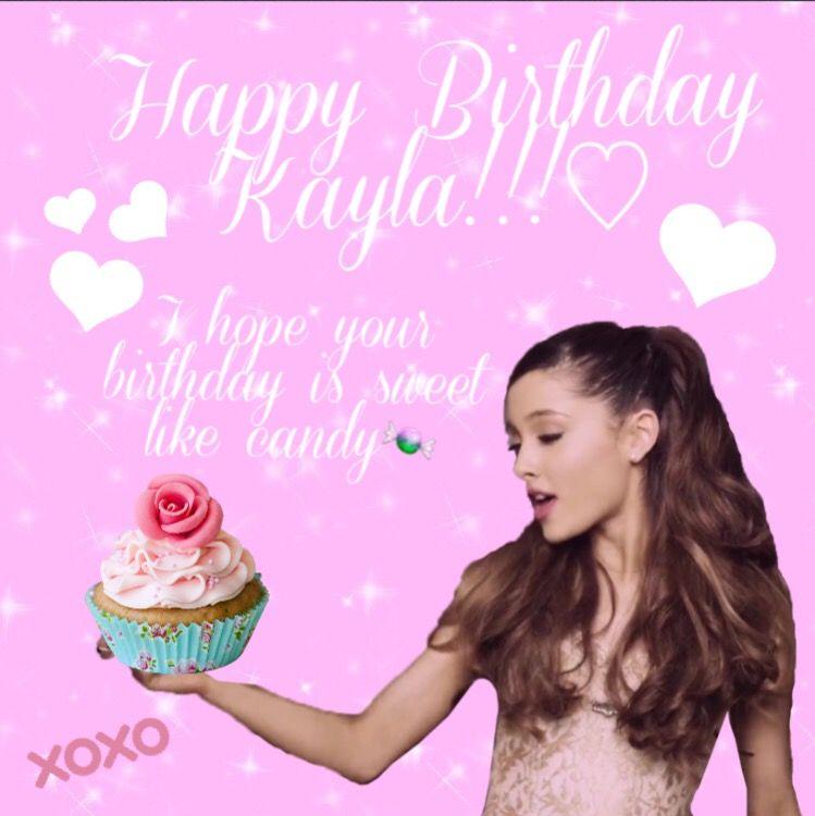 It's Your Birthday, Ariana