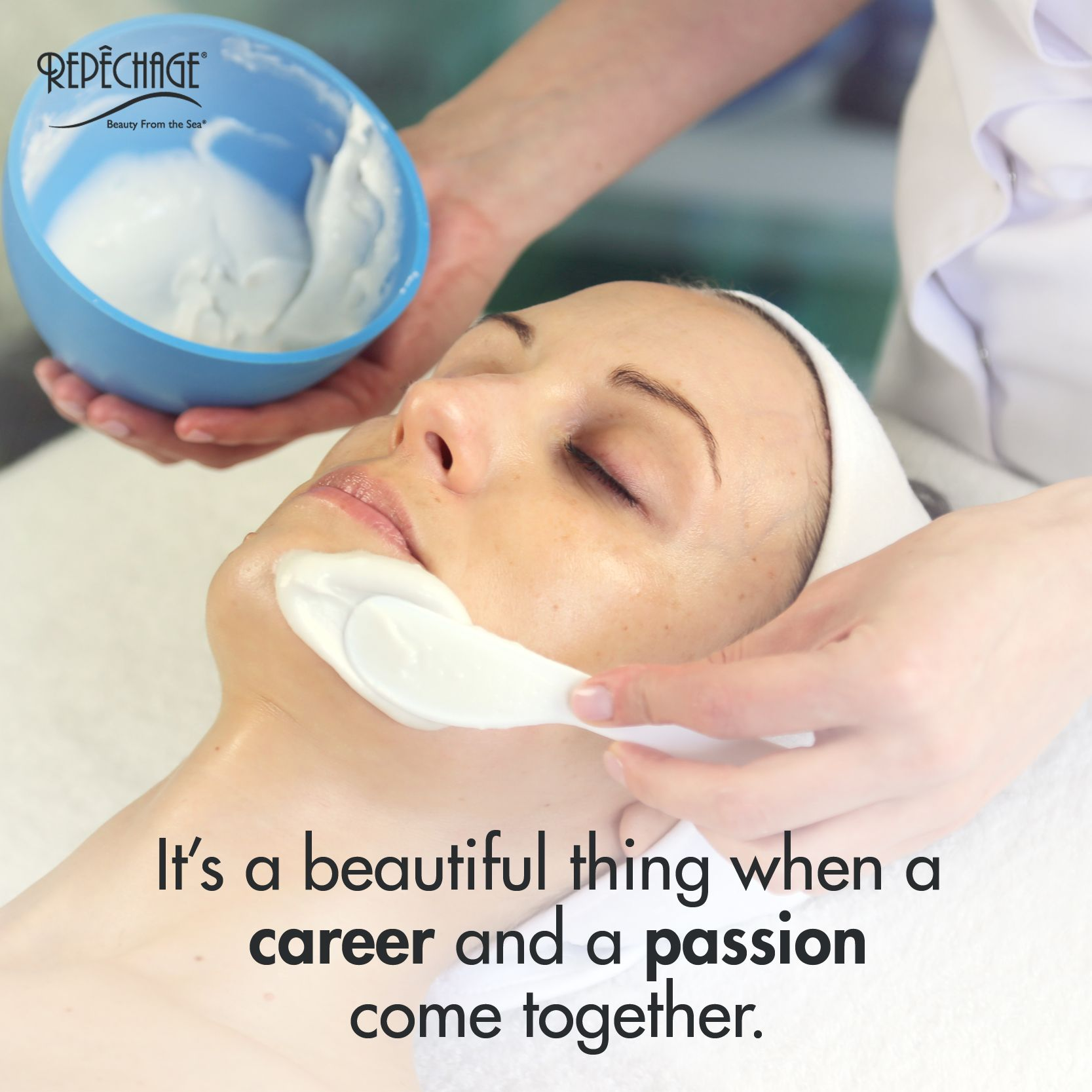 It S A Beautiful Thing When A Career And A Passion Come Together Skinare Esthetician Bea Esthetician Professional Skin Care Products Skin Care Specialist