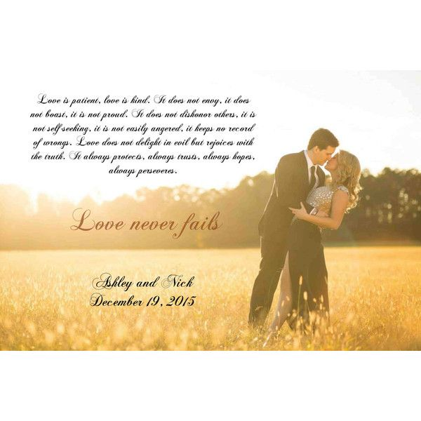 Canvas Word Art 16x24 Wedding Lyrics Canvas Custom Artwork For Your ...