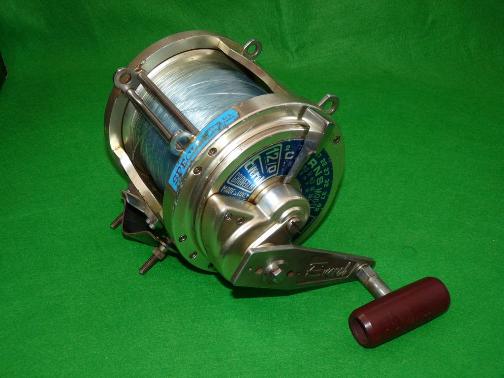 Everol Cairns model 12/0 big game fishing reel by