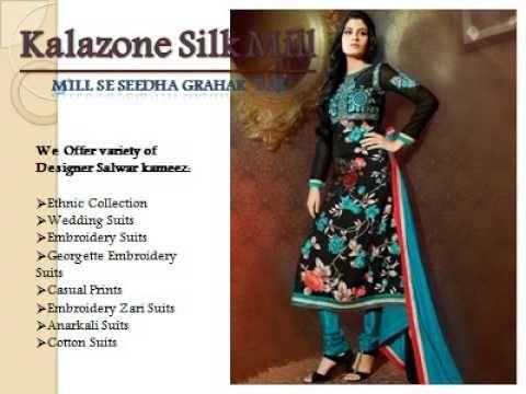 334a7682bb College students prefer shopping online salwar kameez since it reduces the  efforts of visiting shops.