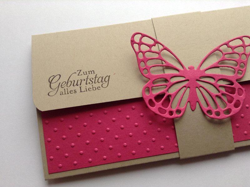Eine Geschenkverpackung für Konzert-, Kino oder Ausstellungskarten hergestellt von INEZZA - Geschenkestübchen auf DaWanda.com #konzertkartenverpacken