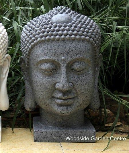 Da Vinci Buddha Head Bust Home Or Garden Ornament | Woodside Garden Centre  | Pots To