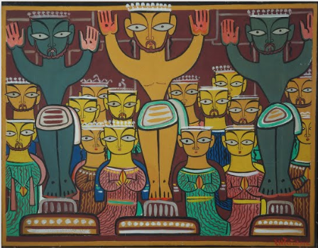 Shri Jamini Roy (1887~1972, small village in Beliatore