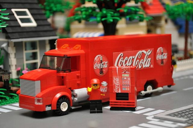 LEGO Coca-Cola Truck | Flickr - Photo Sharing!