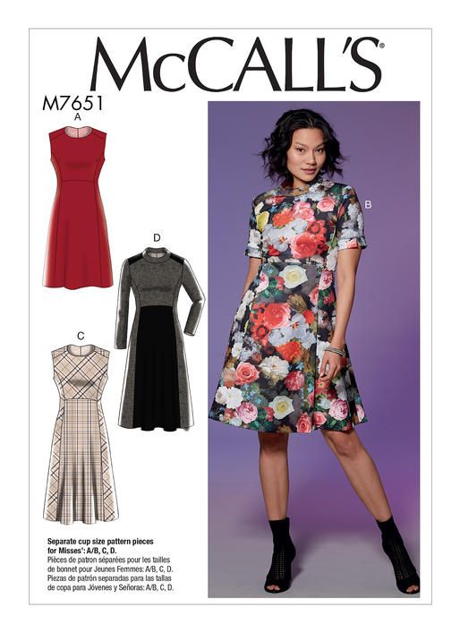 M7651 | McCall\'s Patterns | [Database] Patterns - Women - All ...