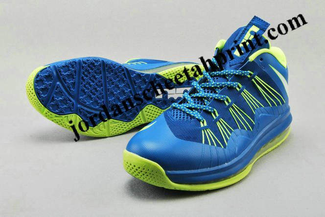 Lebron X Low Sprite Sport Turquoise Lime Green Volt  0dcf91dd4c