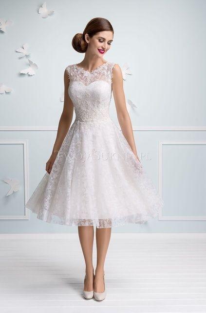 d9eaf1d05b Sukienki slubne krotkie