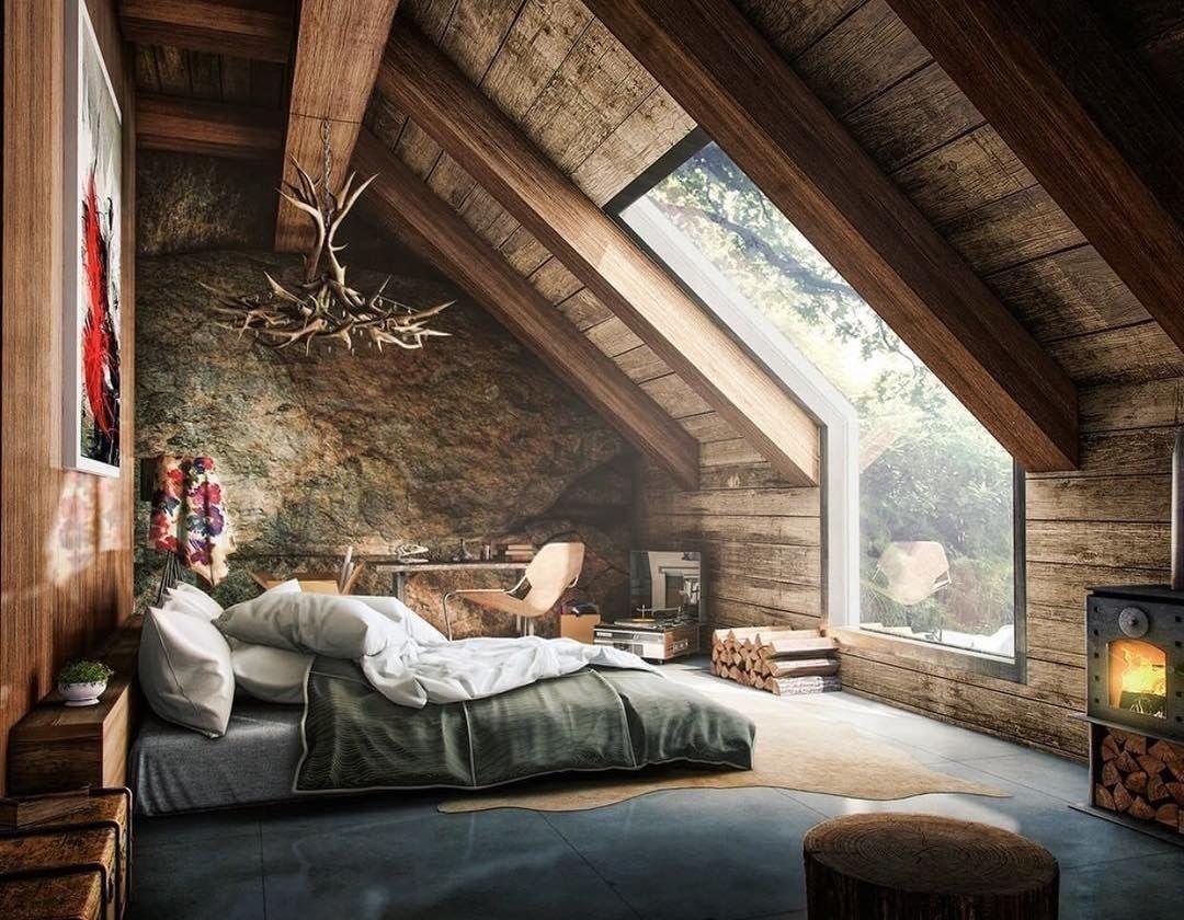 Loft bedroom with no door Ver esta foto do Instagram de thelocalproject u  curtidas