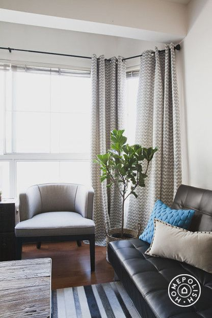 Bay Area Bachelor Pad Bay area, Apartment ideas and Blue leather