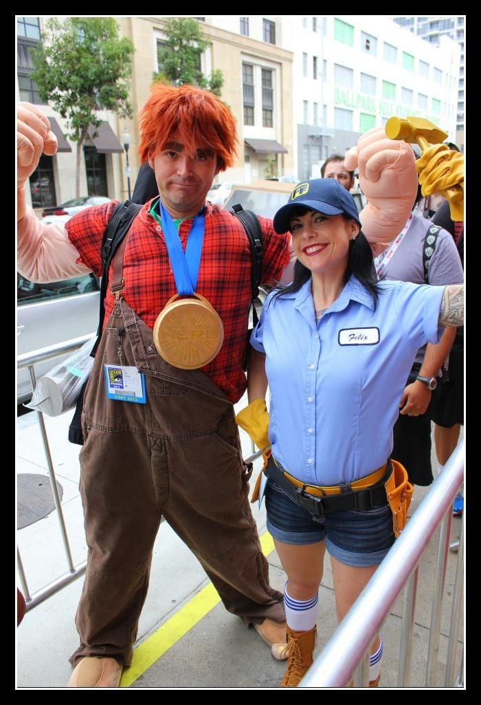 wreckit ralph fixit felix couples costume