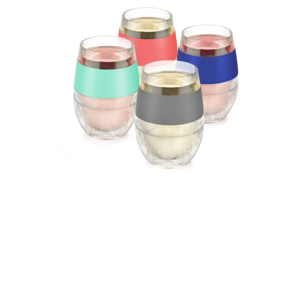 The Host Wine Freeze Cooling Cup Chills Wines Perfectly Every Time
