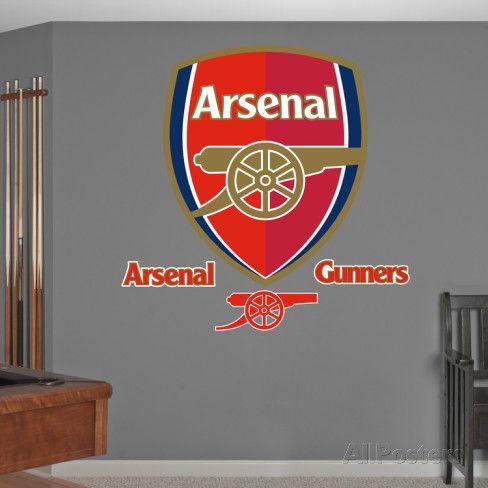 Arsenal Gunners Logo Wall Decal Sticker Wall Decal Wall Decal Sticker Wall Stickers Wall Decals