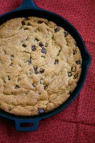 Oven Love: Whole Wheat Chocolate Chip Skillet Cookie