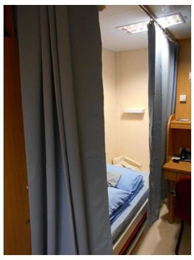 The 88001 Privacy Cubicle Curtain Track Used On Ultra Deep