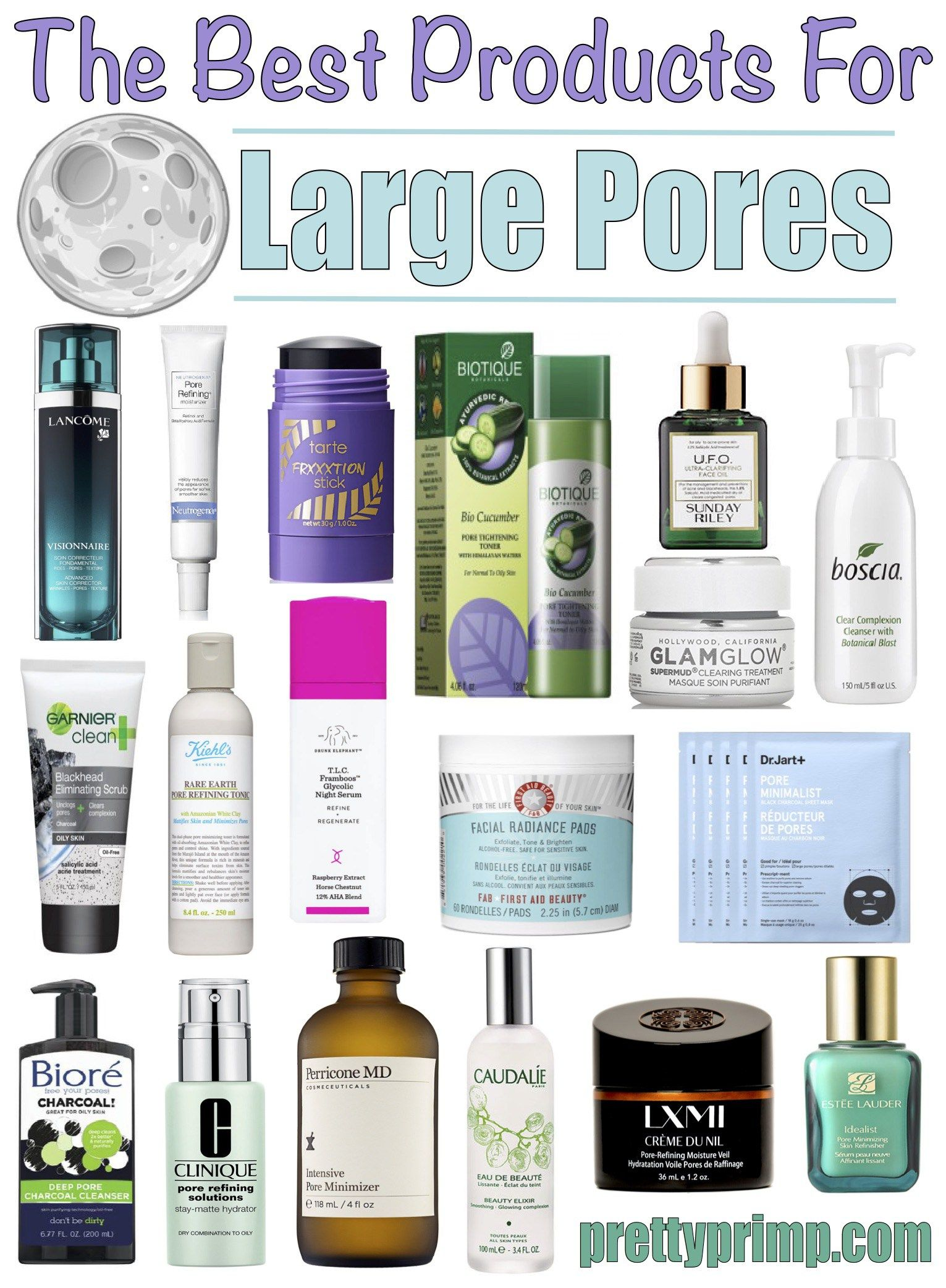 18 Best Products For Large Pores Blackheads That Clear Your Skin Large Pores Skin Care Tips Beauty Care