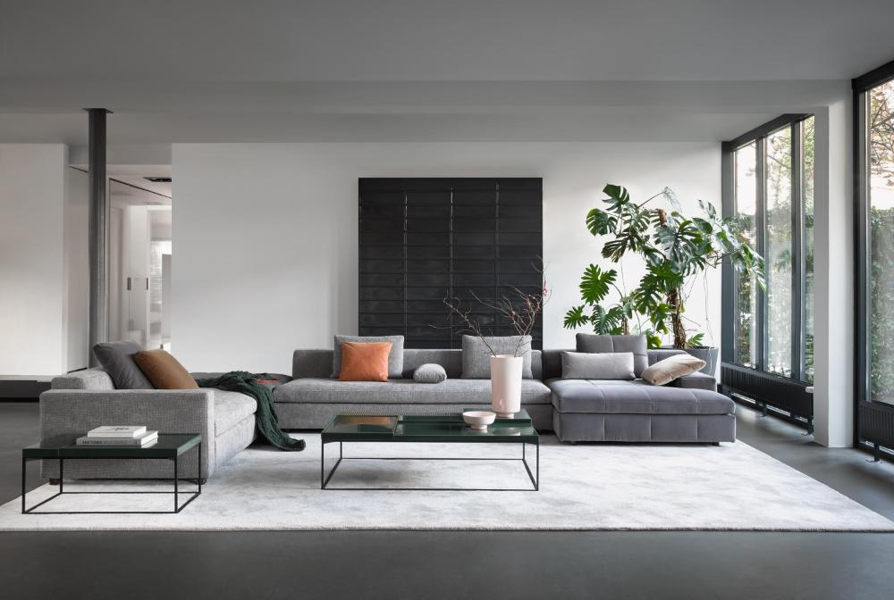Madison By Linteloo Architonic Nowonarchitonic Interior Design Furniture Sofa Seating Livingroom Grey Interer Gostinaya Dom