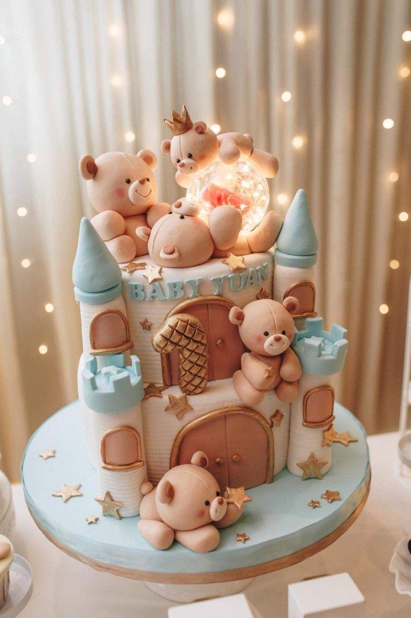 Amazing First Birthday Cake Design Ideas In 2020 Cake Designs Birthday Baby Birthday Cakes Cute Birthday Cakes