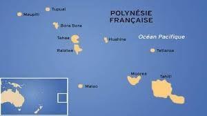 Polynésie Française Géographie Les 5 Archipels