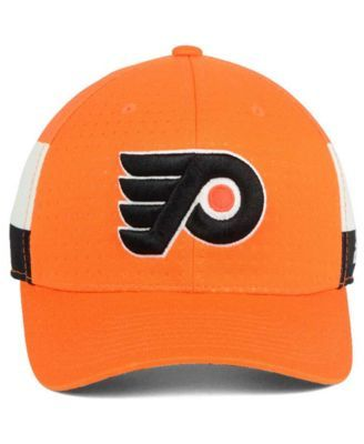 online store 74c32 9f083 adidas Philadelphia Flyers 2017 Draft Structured Flex Cap -  Orange White Black L