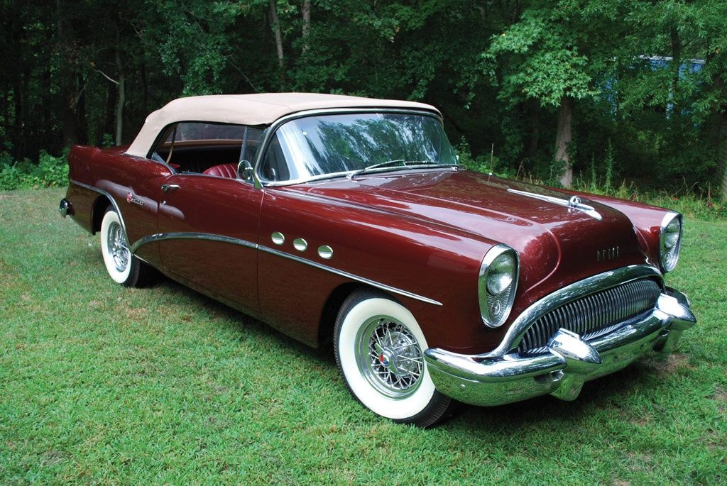 1954 Buick Century Series 60 Images, Information and History