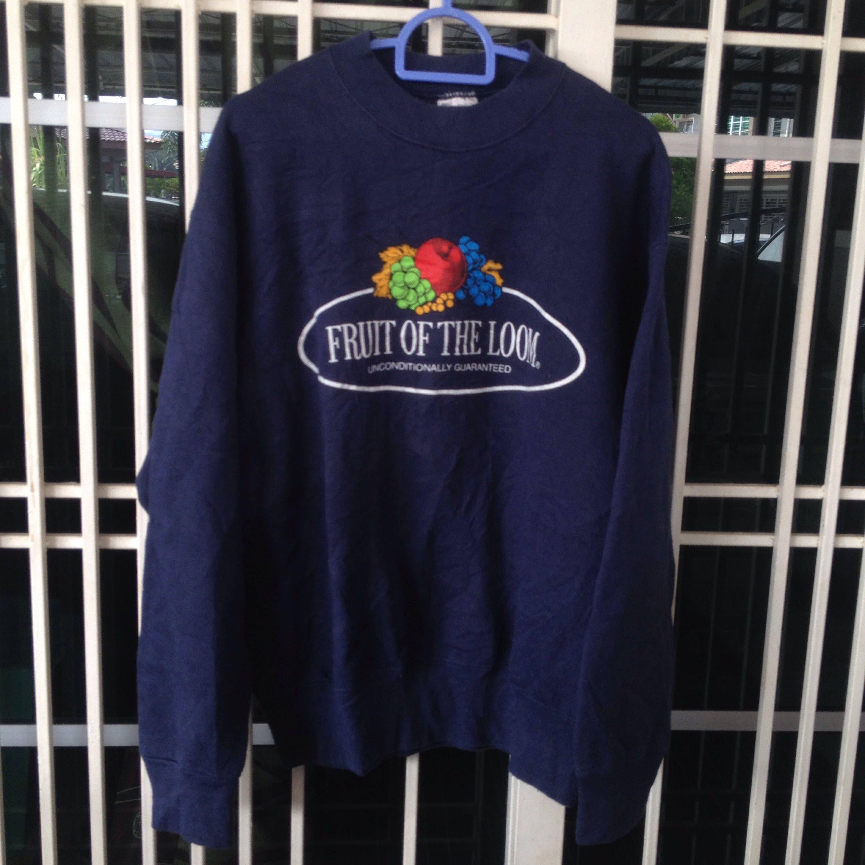 Vintage 90's Fruit Of The Loom crewneck sweatshirt big