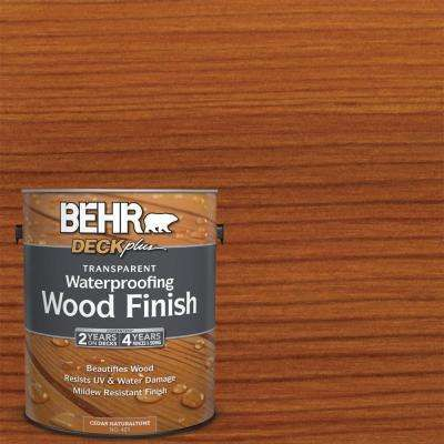 1 Gal Cedar Naturaltone Transparent Waterproofing Exterior Wood Finish Staining Deck Wood Deck Exterior Wood Stain
