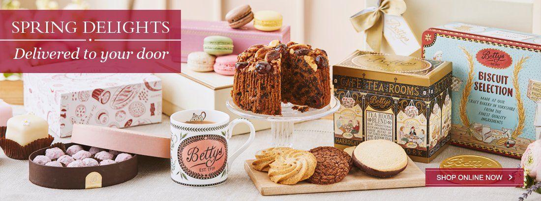 Bettys online bakery cafe tea room luxury gifts