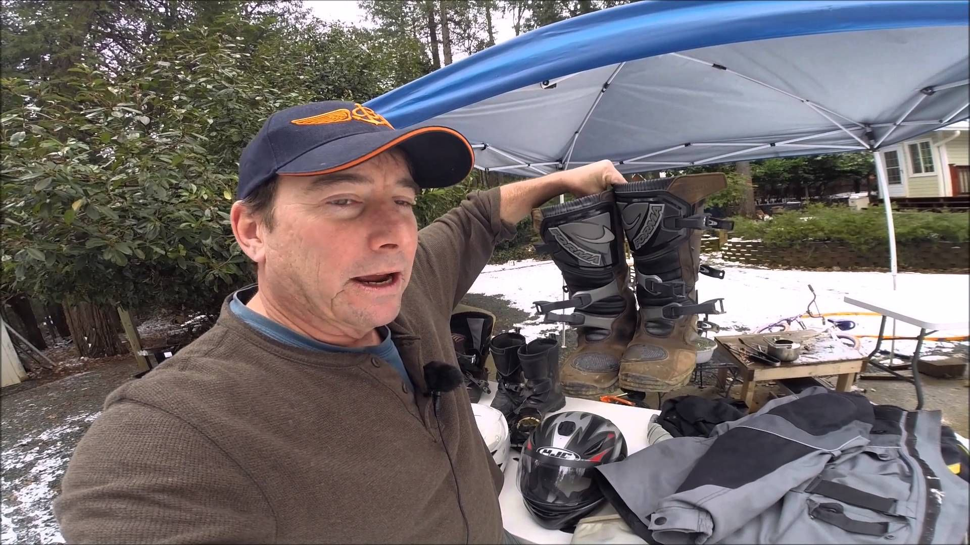 Adventure Riding gear and Spills