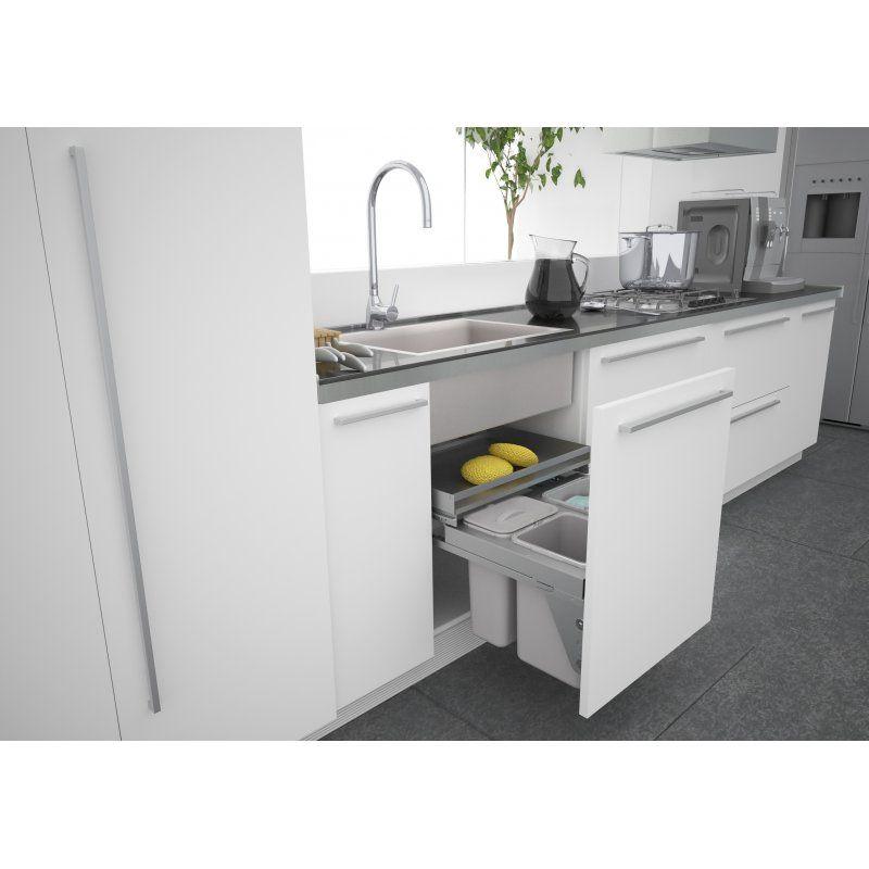Sige 600mm Under Kitchen Sink Waste Bin