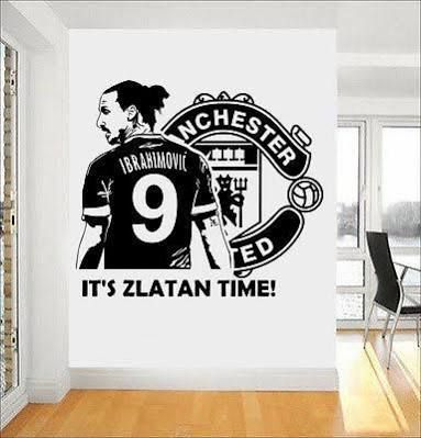 manchester united logo wall stickers | united bedroom | wall decals