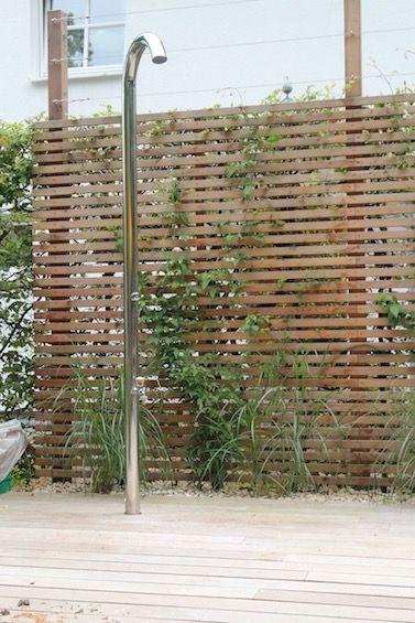 Zaun - Rhombus und Erhöhung mit Rankhilfe! Verde Pinterest