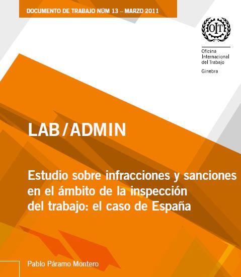 LAB / ADMIN Estudio sobre infracciones y sanciones  en el ámbito de la inspección del trabajo: el caso de España