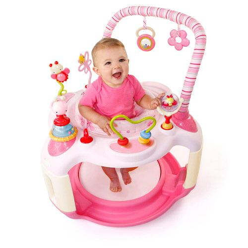 3e541a137 Bright Starts - Pink Bounce-A-Bout Baby Activity Center