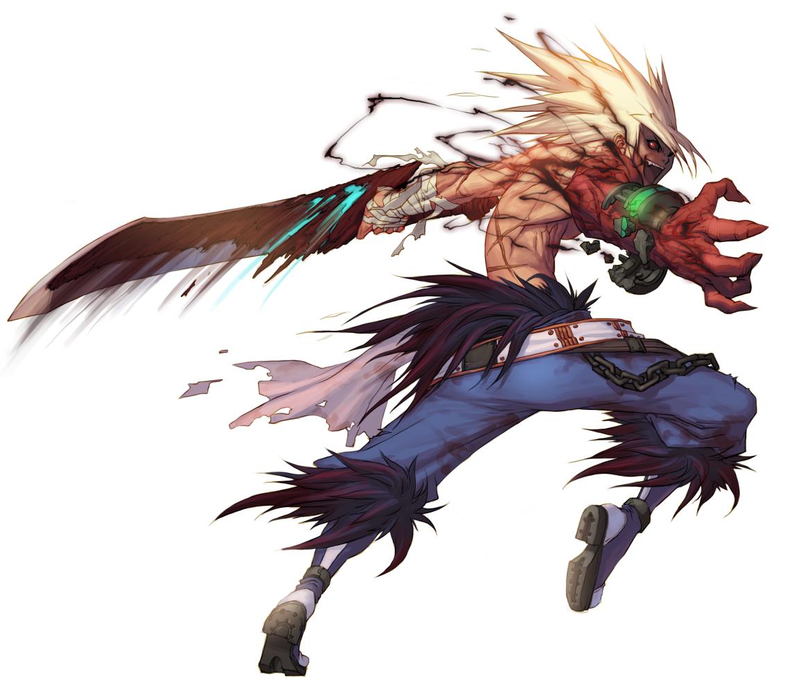 Male Slayer - Berserker Portrait