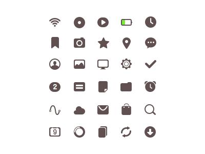 Status Bar Icon Status Bar Icons Icon Free Icon Packs