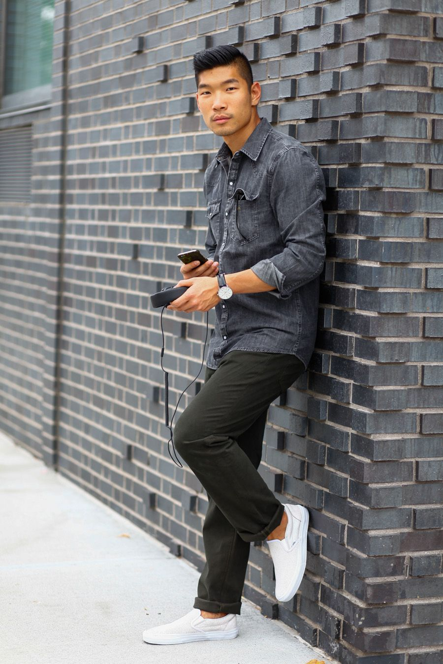 Levitate Style GreyScale Style | Big Star Denim Chambray Marshall Headphones Ullu Phone Case ...