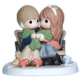 Christmas Precious Moments: Being With You Warms My Heart. $65.00