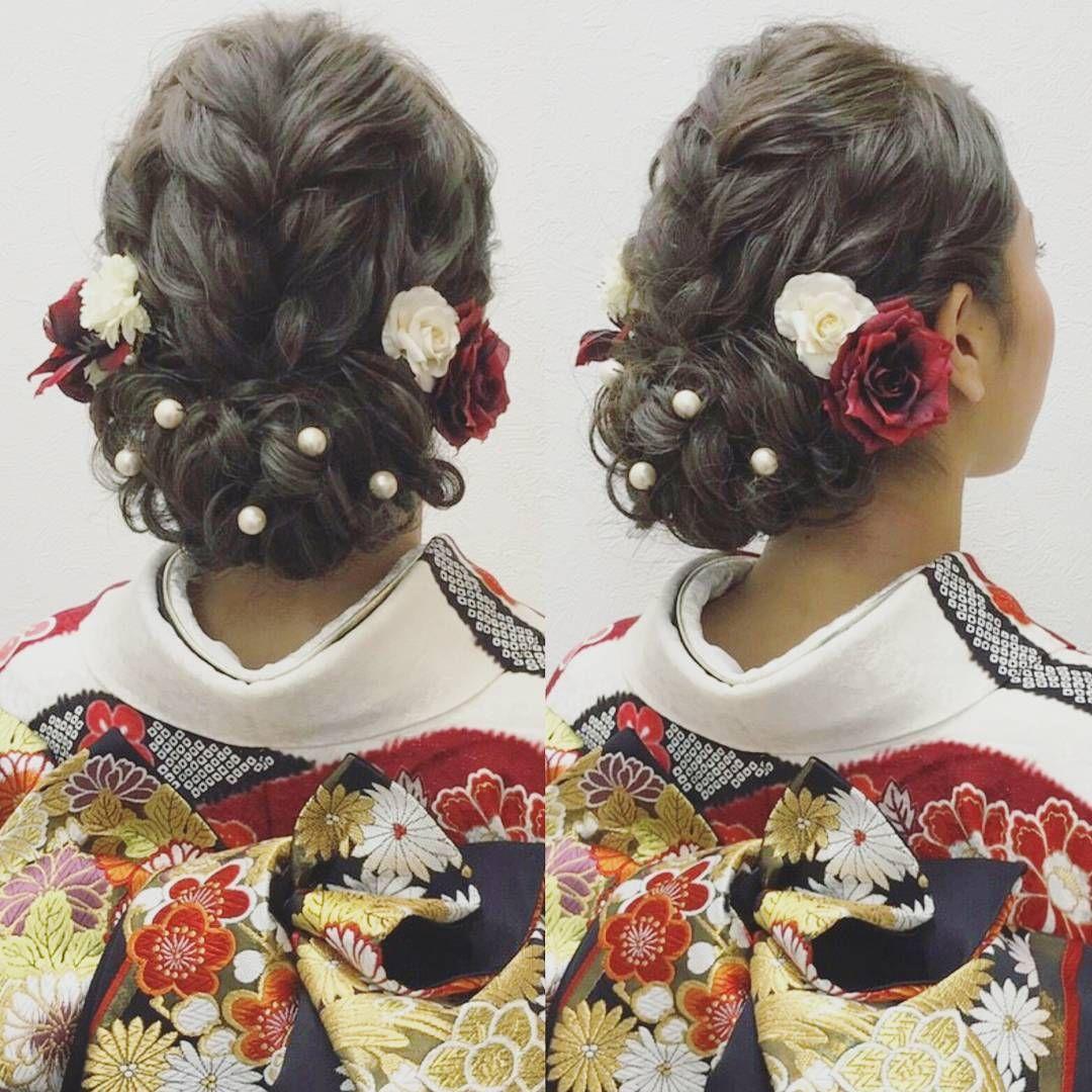 ヘアスタイルに パール を潜ませた 可愛いぎる結婚式の髪型7選