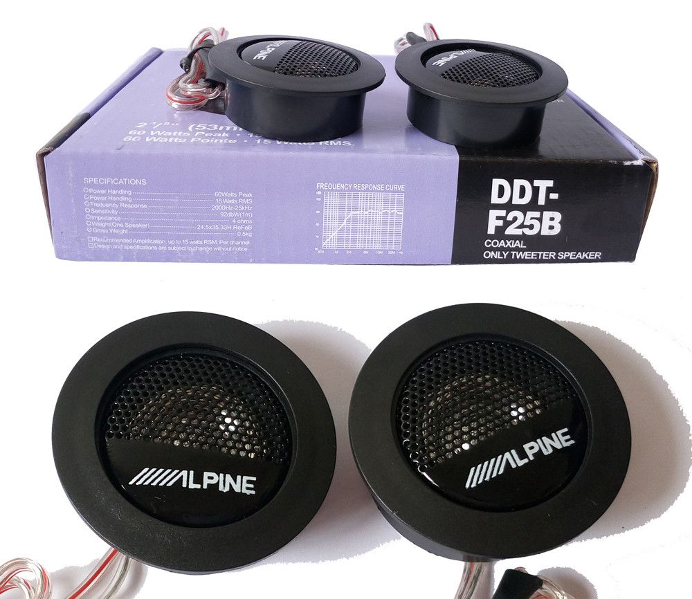 Universal High Efficiency Car Audio Speaker 1pair Car Mini Dome Tweeter Loudspeaker Alpine Super Audio Auto Sound Car Tweeters Speaker Tweeter Alpine Car Audio