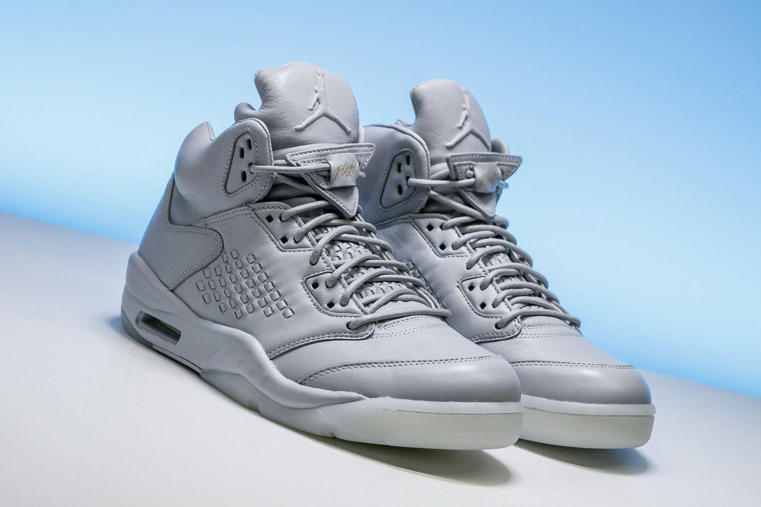 1eeb8ff424e2 The luxurious Air Jordan 5 Premium is a clean summer shoe (especially when  most sizes are below retail).