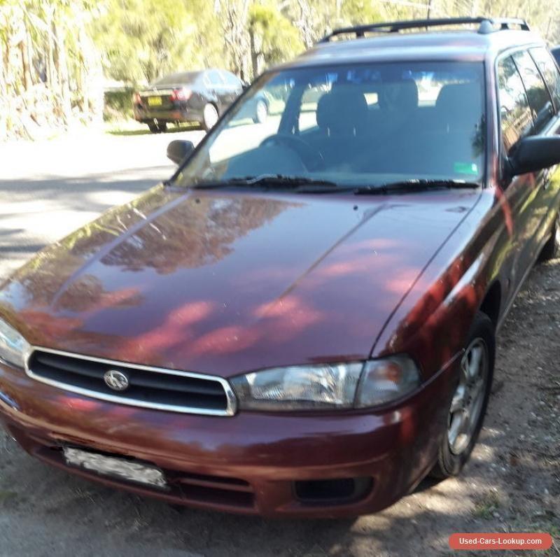 Subaru Liberty Wagon 1998 subaru liberty forsale