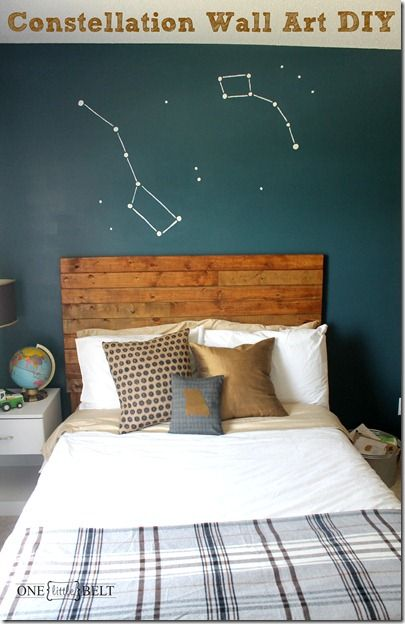 constellation-wall-art. Would be great to do a whole room with ...