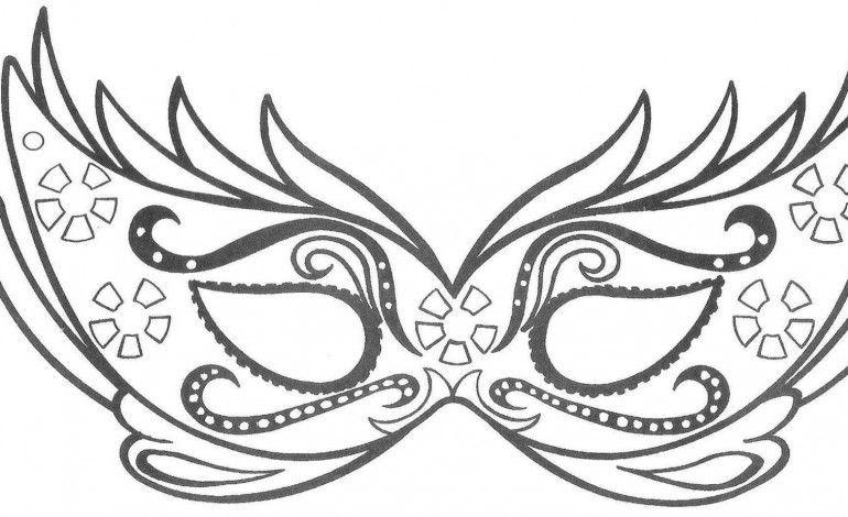 Lusso Disegni Da Stampare E Colorare Sul Carnevale Maschere