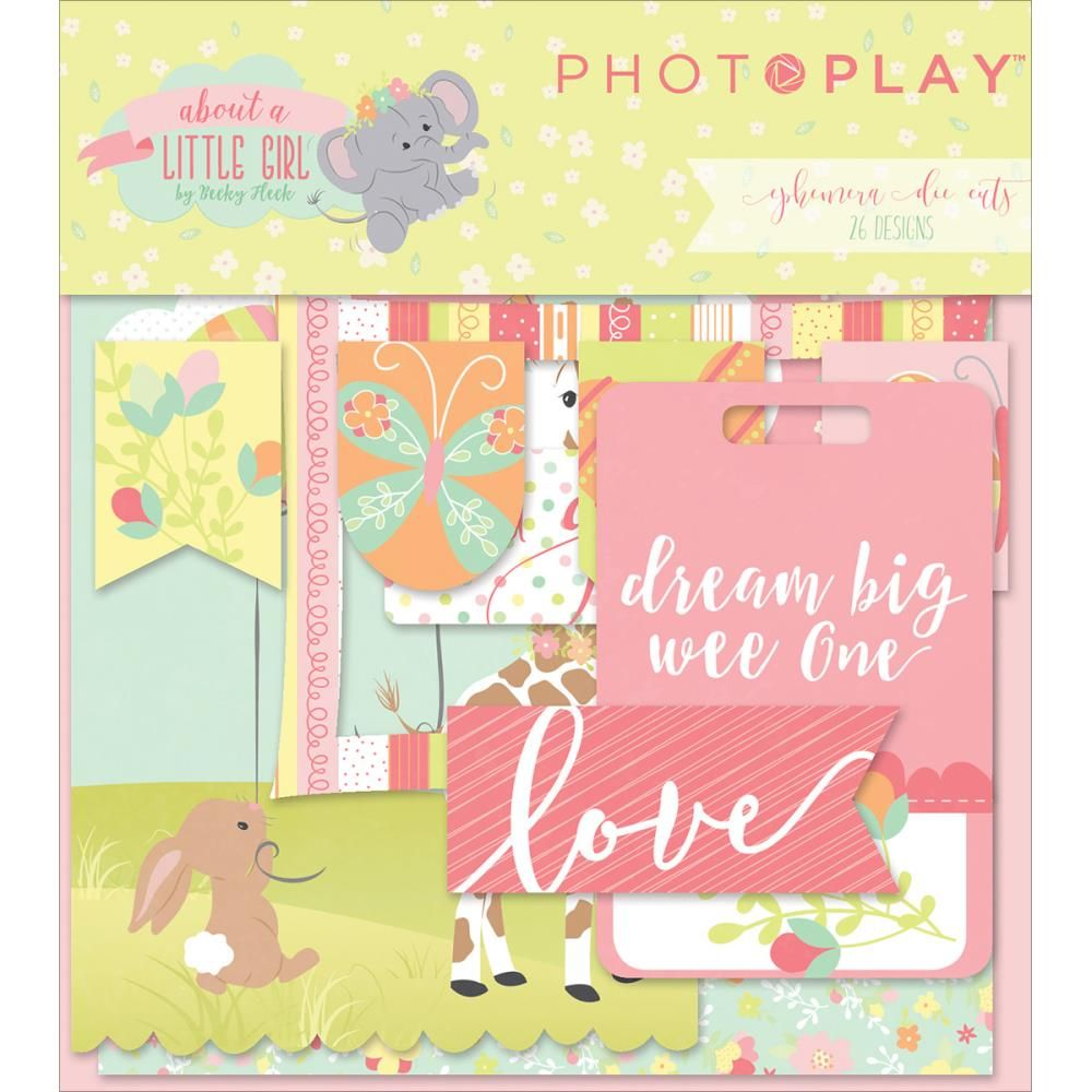 About A Little Boy Ephemera Cardstock Die-cuts Photoplay Pre Order