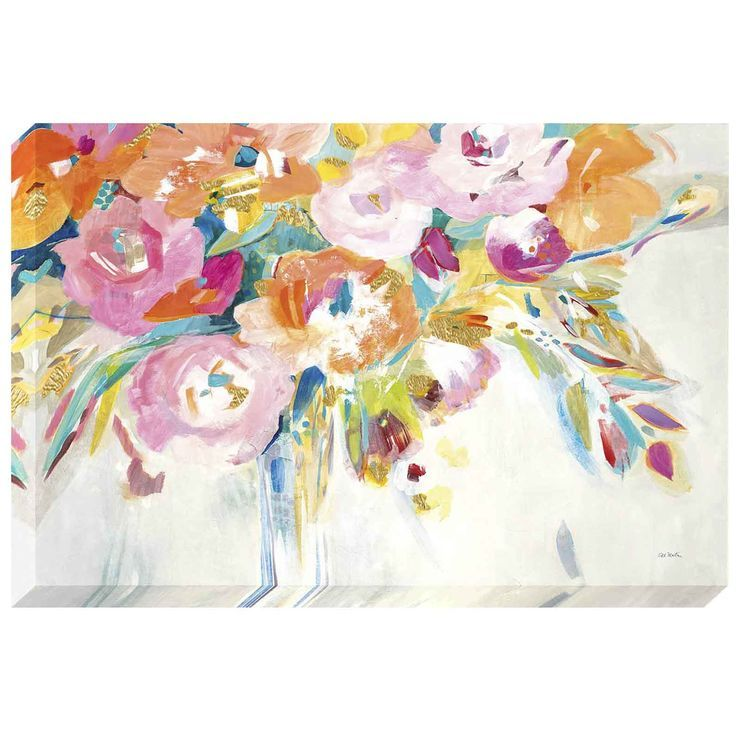 Studio Canvas 24x36 Floral Wall Art Canvas Wall Art Canvas Art