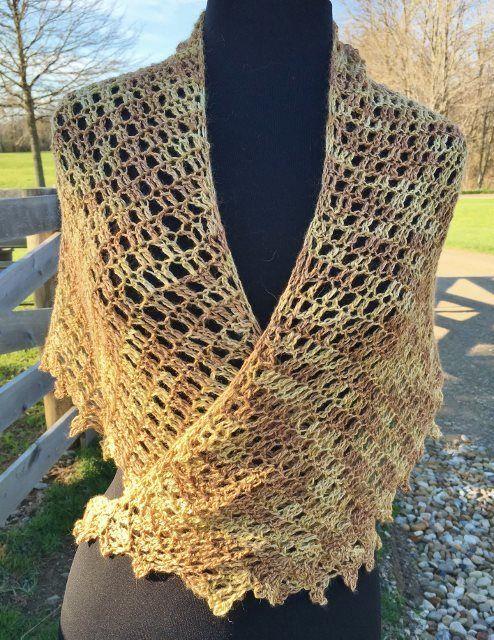 Crescent Shawl | Knitting/crochet | Pinterest | Hermosa